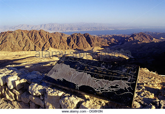 eilat-mountains-a-view-from-mount-yoash-negev-israel-middle-east-western-dg8h3n