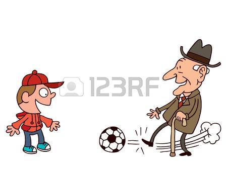 31818378-büyükbaba-ve-torunu-oynama-futbol