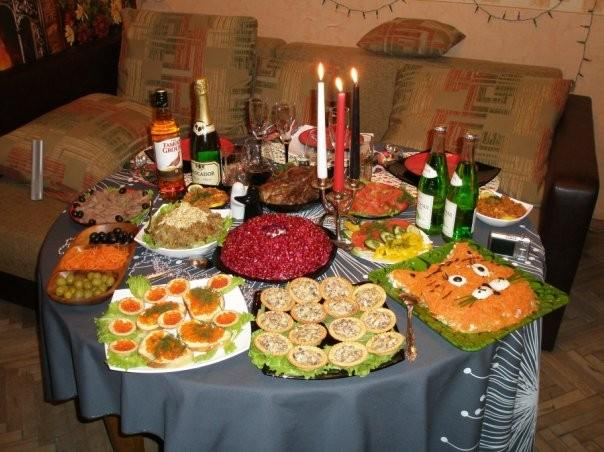 Рецепты новогоднего стола с фото
